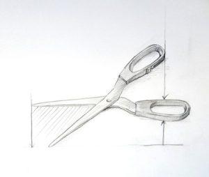 Workshop Zeichnen Schere
