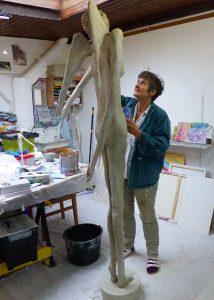 Kosnick im Atelier