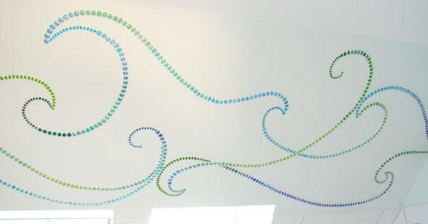 Privatauftrag Wandmosaik