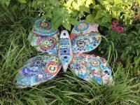 Mosaik-Projekt Schmetterling