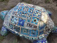 Mosaik-Projekt Schildkröte